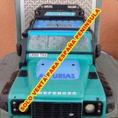 Hobbys: ESC 1/10 BATALLA 323 CRAWLER BODY CUERPO TRAXXAS TRX 4 LAND ROVER DEFENDER. Lote 294827618
