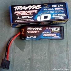 Hobbys: BATERIA ORIGINAL TRAXXAS LIPO 2S 7.4 V 5800MAH PARA MODELOS DE RADIO CONTROL. Lote 294829473