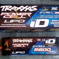Hobbys: BATERIA ORIGINAL TRAXXAS LIPO 2S 7.4 V 5800MAH PARA MODELOS DE RADIO CONTROL. Lote 294829598