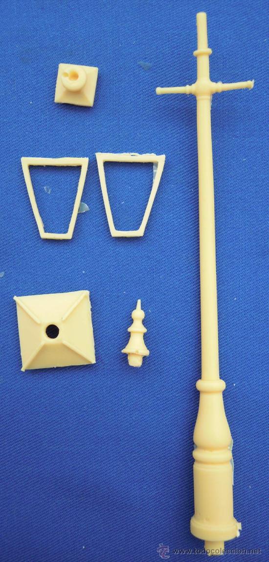 FAROLA EN RESINA PARA MONTAR (Juguetes - Modelismo y Radiocontrol - Figuras en miniatura)