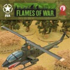 Hobbys: FLAMES OF WAR: VIETNAM VBX01 AH-1G HUEY COBRA (PRECINTADO). Lote 31755975