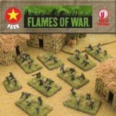 Hobbys: FLAMES OF WAR: VIETNAM VBX13 PAVN INFANTRY COMPANY (PRECINTADO). Lote 31756066