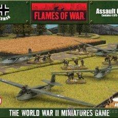 Hobbys: FLAMES OF WAR: ALEMANES GBX57 ASSAULT GLIDERS (PRECINTADO) . Lote 31756108
