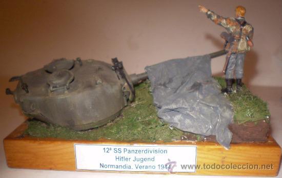 """12ª SS PANZERDIVISION """"HITLERJUGEND"""" NORMANDÍA 1944. DIORAMA ESCALA 1/35 (Juguetes - Modelismo y Radiocontrol - Figuras en miniatura)"""