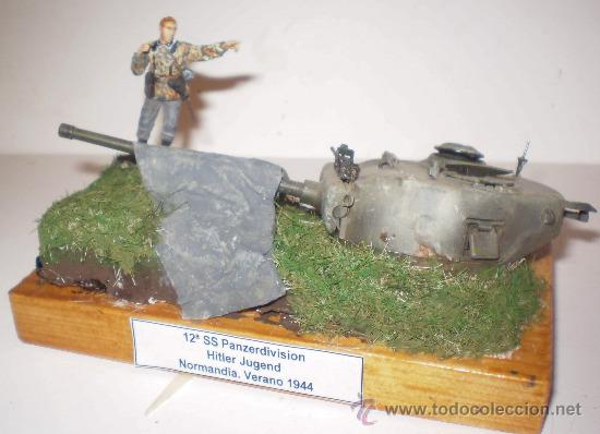 "Hobbys: 12ª SS PANZERDIVISION ""HITLERJUGEND"" NORMANDÍA 1944. DIORAMA ESCALA 1/35 - Foto 2 - 32000117"