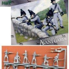Hobbys: CAJA SOLDADOS 1/72 MINIATURAS HAT - BRUNSWICK AVANTGARDE - 48 SOLDADOS. Lote 33361491
