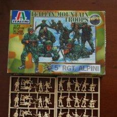 Hobbys: CAJA ITALERI - TROPA DE MONTAÑA ITALIANA 1/72 WWII SERIES - JUPA -. Lote 94138019