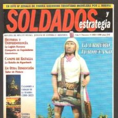 Hobbys: SOLDADOS Y ESTRATEGIA. REVISTA DE MINIATURISMO,JUEGOS DE GUERRA E HISTORIA (VARIOS NÚMEROS). Lote 180105413