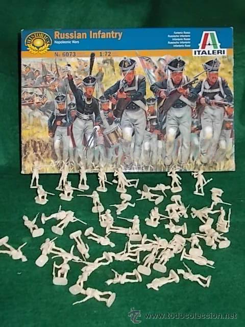 CAJA SOLDADOS 1/72 MINIATURAS ITALERI - INFANTERIA RUSA - 50 SOLDADOS (Juguetes - Modelismo y Radiocontrol - Figuras en miniatura)