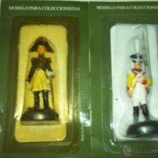 Hobbys: 2 SOLDADOS DE PLOMO ESPAÑOLES GUERRAS NAPOLEONICAS IND. ESPAÑA. Lote 44970201
