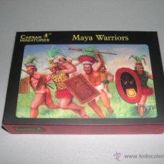 Hobbys: GUERREROS MAYAS - CAESAR 1/72 - REF 027. Lote 45062057