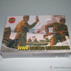 Hobbys: WW II BRITISH COMMANDOS - AIRFIX 1/76 - REF 01732. Lote 45062113