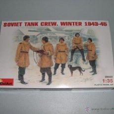 Hobbys: SOVIET TANK CREW. WINTER 1943-45 - MINIART 1/35 - REF 35022. Lote 45062168