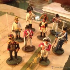 Hobbys: SOLDADOS DE PLOMO. LOTE DE 8 FIGURAS RELATIVAS AL S. XIX. Lote 46560166