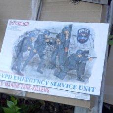 Hobbys: NYPD SERVICE EMERGENCY UNIT, DRAGON 1/35. Lote 48863645