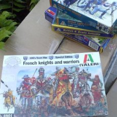 Hobbys: FRENCH KNIGHTS AND WARRIORS, SPECIAL EDITION 100 YEARS WAR, ITALERI 54 MM. Lote 48959568