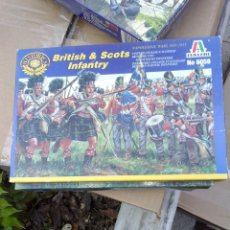Hobbys: BRITISH AND SCOT INFANTRY, NAPOLEONIC WARS, ITALERI 1/72. Lote 48959707