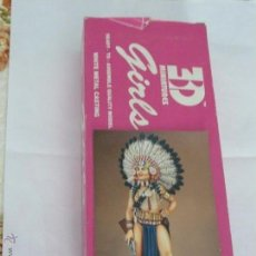 Hobbys: 80MM ANDREA MINIATURES SERIE GIRLS SIOUX GIRL REF. G - 017. Lote 50017638