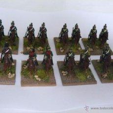 Hobbys: 15MM NAPOLEONIC 16 DRAGONES FRANCESES (32 FIGURAS) PINTADOS A NIVEL WARGAME . Lote 50774965