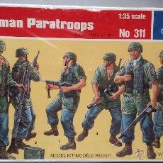 Hobbys: GERMAN PARATROOPERS, ITALERI 1/35. Lote 51122749