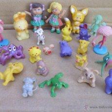 Hobbys: 23 MINIATURAS DE ANIMALES Y PERSONAJES. Lote 52290093