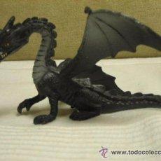 Hobbys: ANTIGUA FIGURA DE GOMA DE UN DRAGON. Lote 54541143