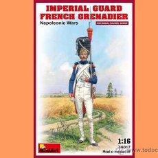 Hobbys: FIGURA DE GRANADERO DE LA GUARDIA IMPERIAL NAPOLOEÓNICA DE MINIART A ESCALA 1/16. Lote 54665276