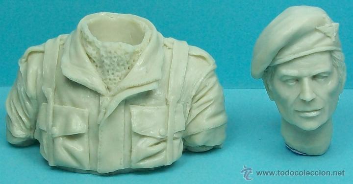 Resin English Paratrooper 1//10 BU-6 Paracaidista Ingles Zona72 Busto Resina