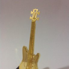 Hobbys: MINIATURA DE METAL - BAJO - - MINIATURAS INSTRUMENTO MUSICAL . Lote 55203879
