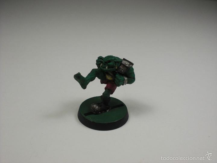 Games Workshop, Citadel, Blood Bowl. Orco pateador de 1988. segunda mano