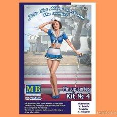Hobbys: FIGURA DE PIN-UP DE LA 2ª GUERRA MUNDIAL Nº 4 (SUZIE) DE MASTERBOX A ESCALA 1/24. Lote 138526044