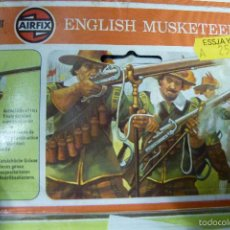 Hobbys: AIRFIX 54 MM MOSQUETERO INGLES 1642 - MUY BUSCADO - VINTAGE - COLLECTOR SERIES. Lote 56550137