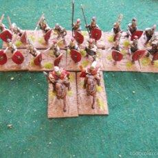 Hobbys: 24 FIGURAS DE PLOMO 25 MM PINTADAS ROMANOS REPUBLICANOS. Lote 58388612
