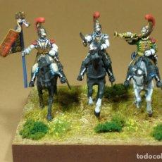 Hobbys: DIORAMA,2º REGIMIENTO CARABINEROS FRANCESES,812,PINTADO A MANO SOBRE PLÁSTICO.HISPACOLECCIÓN,28 MM. Lote 64496843