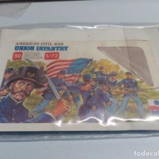 Hobbys: ESCI 1/72. UNION INFANTRY. REFERENCIA 222. Lote 65999478