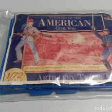 Hobbys: ACCURATE 1/72. UNION ARTILLERY TEAM . REFERENCIA 7204. Lote 65999558