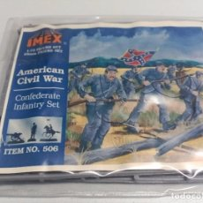 Hobbys: IMEX 1/72. CONFEDERATE INFANTRY . REFERENCIA 506. Lote 65999714