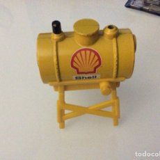 Hobbys: TANQUE COMBUSTIBLE METÁLICO SHELL. Lote 75908285