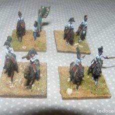Hobbys: 15MM AB MINIATURES NAPOLEONICO 4 BASES DE GENERAL DE DIVISION AUSTRIACOS PINTADOS EN ALTA CALIDAD. Lote 77419185