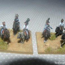 Hobbys: 15MM AB MINIATURES NAPOLEONICO 2 BASES DE GENERALES DE CUERPO AUSTRIACOS PINTADOS EN ALTA CALIDAD. Lote 77420577