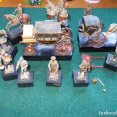 Hobbys: LOTE DE PIEZAS QUE SE VENDIÁN EN LOS MUSEOS ANTIGUAS LA ESCALA PARECE 54MM. Lote 79012189
