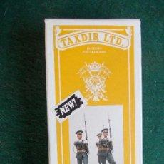 Hobbys: CAJA CON 3 FIGURAS DE PLOMO PARA MONTAR MARCA TAXDIR LTD APROXIMADO 54 MM. Lote 82447584