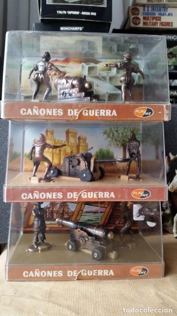 CAÑONES DE GUERRA PLAYME EPOCAS PIRATAS, MEDIEVAL Y ANTIGUA (Juguetes - Modelismo y Radiocontrol - Figuras en miniatura)