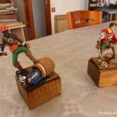 Hobbys: EL CACHORRO Y BATÁN FIGURAS (60 MM). Lote 85936536