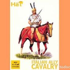 Hobbys: CAJA CON CABALLERÍA ITÁLICA ALIADA DE CARTAGO (ÉPOCA ANÍBAL) DE HAT A ESCALA 1/72. Lote 87169076
