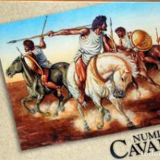 Hobbys: CAJA CON CABALLERÍA NÚMIDA (ÉPOCA ROMANA) DE HAT A ESCALA 1/72. Lote 87169876