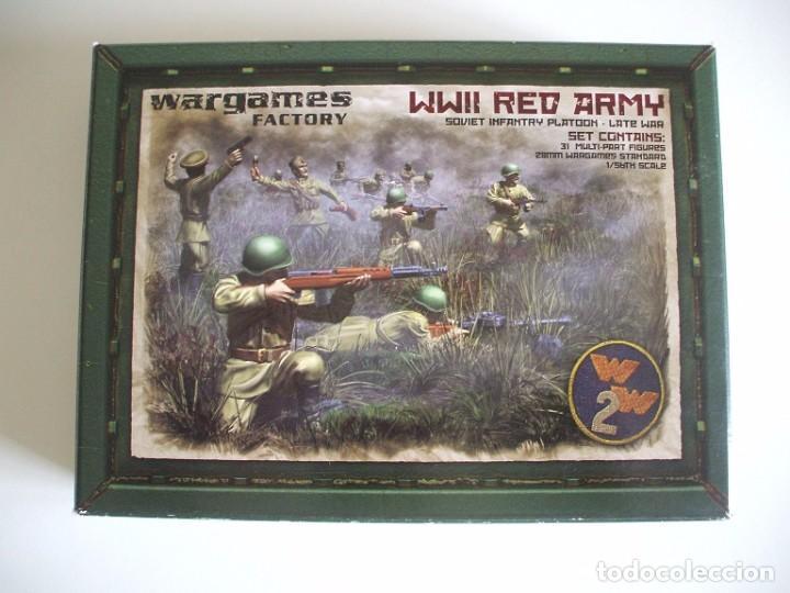 Soldados URSS 28mm wargames segunda mano