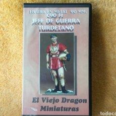 Hobbys: FIGURA METAL -JEFE DE GUERRA TURDETANO- DE EL VIEJO DRAGON 90MM. Lote 97250504