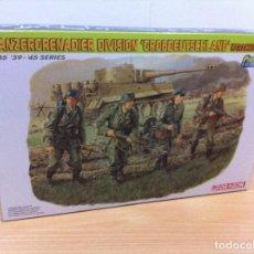 Hobbys: 1/35 - SERIE '39 - '45: PANZERGRENADIER DIVISION GROSSDEUTSCHLAND EN KARACHEV 1943. DRAGON, 2006. Lote 104379575