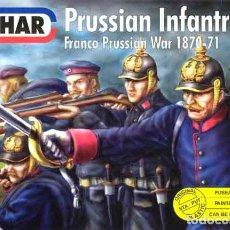 Hobbys: CAJA CON INFANTERÍA PRUSIANA (GUERRA FRANCO-PRUSIANA 1870) DE EMHAR A 1/72. Lote 106955195